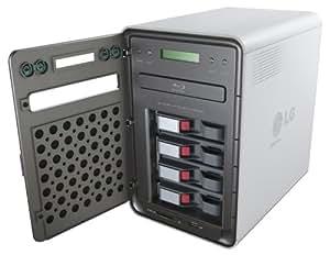 LG N4B1N servidor de almacenamiento - Unidad RAID (4000 GB, Serial ATA II, 1000 GB, LCD, Blu-Ray, MMC, SD, xD)