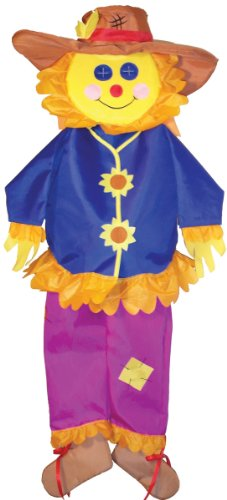 (In the Breeze ITB-4274 Autumn Scarecrow Wind Friend 3D Windsock)