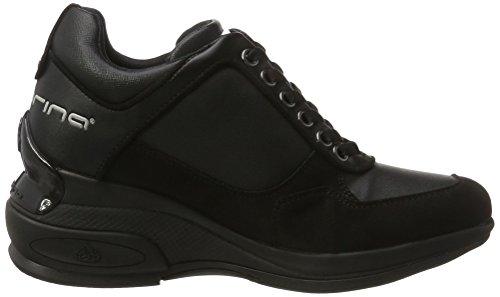 Black Negro para Zapatillas 00 Fornarina Mujer Daily fpWqH