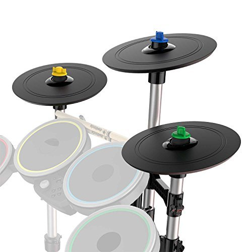 Rock Band 4 Pro-Cymbals Expansion Drum Kit by Mad Catz