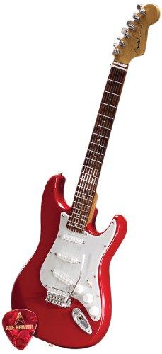 Axe Heaven FS-006 Fender Start Classic Red Finish Miniature Guitar Replica - Miniature Guitar Shop