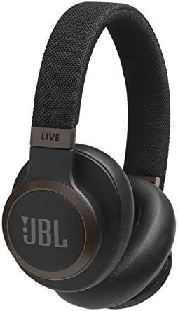JBL LIVE 650BTNC kabellose Over-Ear Kopfhörer in Schwarz – Bluetooth Ohrhörer mit Noise Cancelling, langer Akkulaufzeit & Alexa-Integration – Unterwegs Musik hören und telefonieren