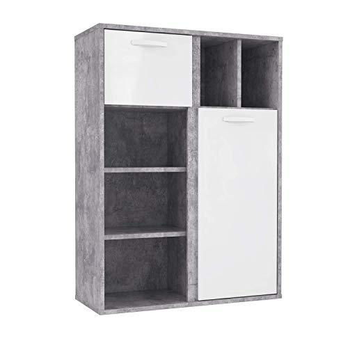FORTE Regal, Holzwerkstoff, 99,5 x 137,5 x 41,5 cm