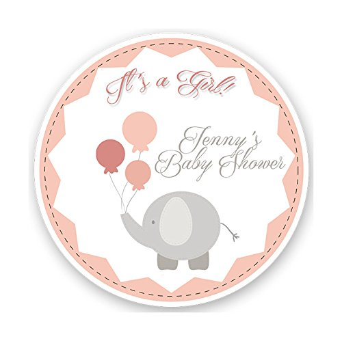 Amazon Custom Elephant Baby Shower Shower Stickers Shower