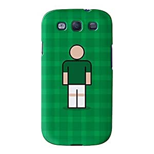 Plymouth Full Wrap High Quality 3D Printed Case for Samsung? Galaxy S3 by Blunt Football + FREE Crystal Clear Screen Protector