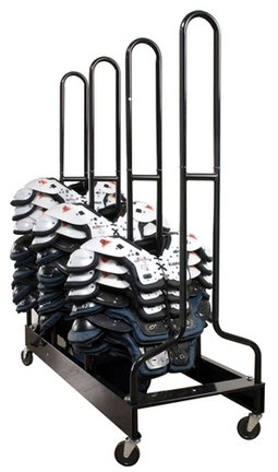 Four-Stack Football Shoulder Pad (Olympia Kids Football)