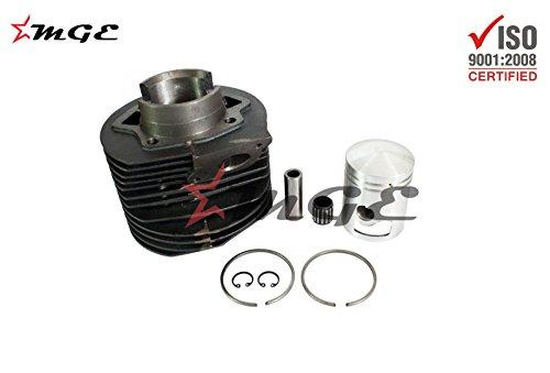 Piston Kit 225cc Barrel Enfield County Lambretta Alloy Aluminium Cylinder Head