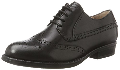 Stonefly Clyde 21 Calf, Scarpe Stringate Oxford Donna Nero (Nero/Black)