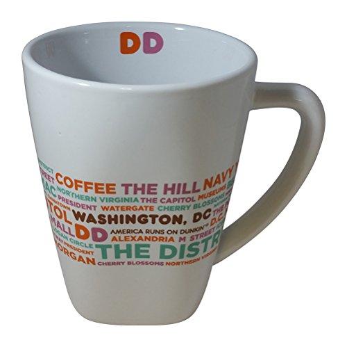 Dunkin Donuts Limited Edition Destination Mugs - Washington, D.C.