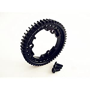 CrazyRacer Harden Steel 50T Main Spur Gear 1 Mod M1 - 1 pc For Traxxassss XMAXXX 6S & 8S E-Revo 2.0 XO-1