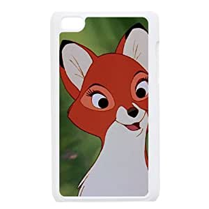 iPod Touch 4 Case White Fox and the Hound 2 007 YE3470990