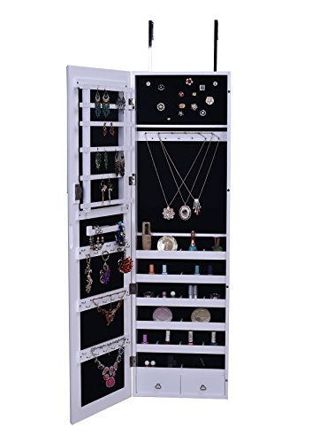 BTEXPERT Premium Jewelry Armoire Cabinet product image