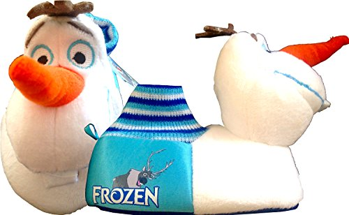 Cheap Disney Frozen Olaf Slippers Unisex Goodnight and Good Morning Toddler Slippers Perfect Disney Frozen Christmas Gift (LARGE (9/10))