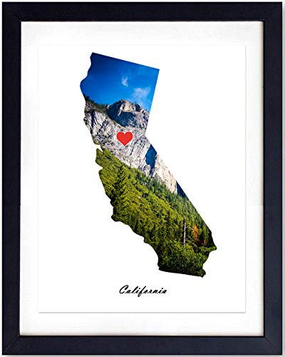 Photo 8x10 Art (California Wall Art Print - 8X10 Unframed Photo - Great For Home Decor and Easy Gift Giving)