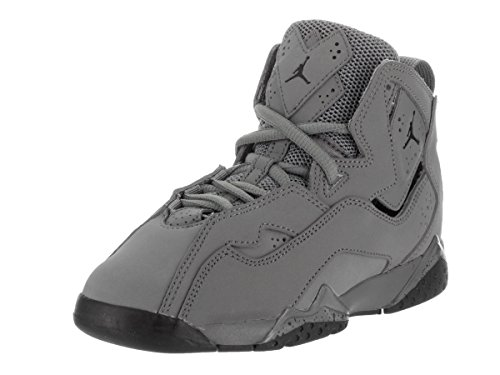 Jordan Nike Kids True Flight Bp Cool Grey/Black Basketball Shoe 11.5 Kids US by Jordan