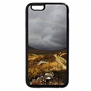 iPhone 6S / iPhone 6 Case (Black) Rainbow over the Valley