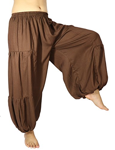 Party City Costumes 60 Off (Lovely Creations's Men and Women's Plus size loose Harem Aladdin Yoga Elastic Waist Casual Pants Wild Leg and Waist 24-48