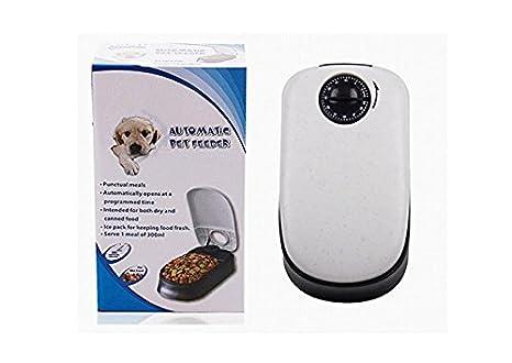 Auto Pet alimentador automático Temporizador Control perros gatos comedero con paquete de hielo: Amazon.es: Productos para mascotas