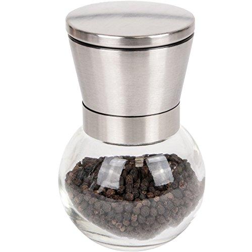 Cuisinox Salt/Pepper Flax Seed Mill, Silver