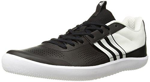 Originaux Adidas Mens Throwstar Exécutant Noyau De Chaussure Noir / Blanc / Salut-res Dorange
