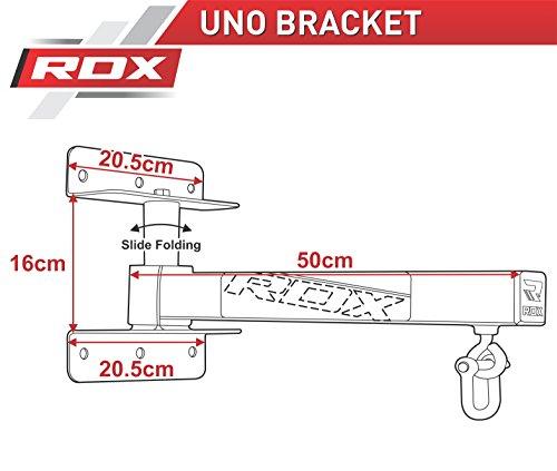 RDX-Heavy-Boxing-Punch-Bag-Iron-Folding-Wall-Mount-Bracket-Punching-MMA-Training-Hanger