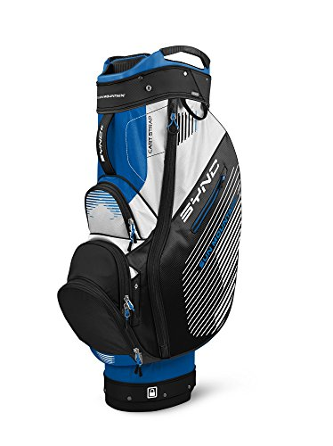Sun Mountain 2017 Sync Cart Bag Black/Blue