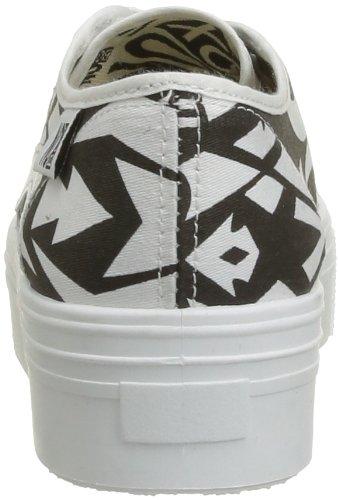 Black Alma De Box Mujer Zapatillas No Deporte bicolor Negro Noir T6vpqnn