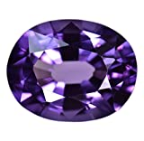 Simulated Alexandrite Color Change Unset Oval Gem ~14ct 16mm (Qty=1)