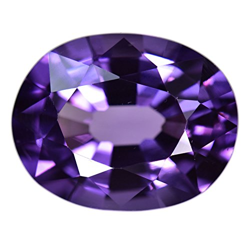 Simulated Alexandrite Color Change Unset Oval Gem ~14ct 16mm (Qty=1) (Change Color Oval Sapphire)