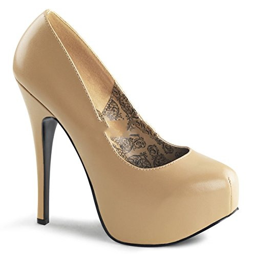 Bordello - Zapatos de vestir para mujer Beige beige, color Beige, talla 6 UK