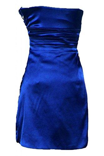 Dress Cocktail corto Abito Sunvary Royal Bridemaid con fodero da semplice Blue fqIwA8