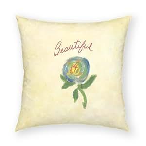 "Beautiful 18""x18"" Artistic Cotton Throw Pillow"