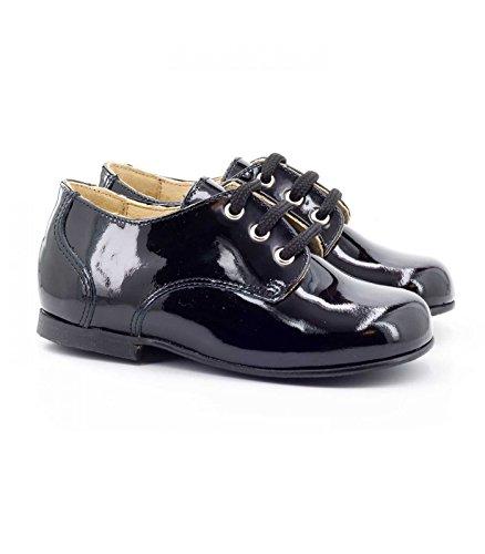 Boni Mini-Armand �?schwarz Schuhe für Baby Schwarzes Lackleder