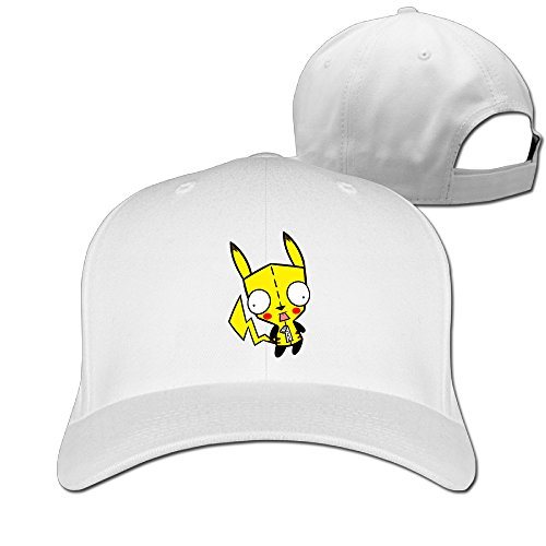 NUBIA Cartoon Gir Sports Peaked Cap Flexfit Hat White