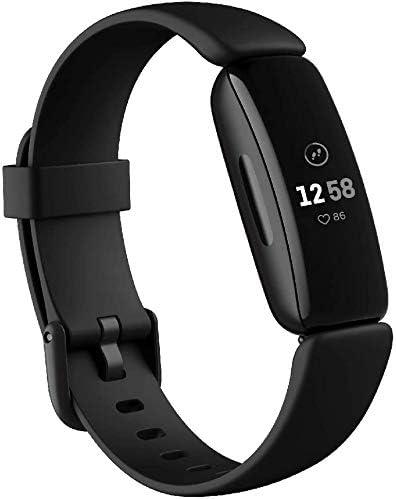 Fitbit Inspire 2 スマートウォッチ 活動量計 フィットネストラッカー 心拍計 FB418 (Black) [並行輸入品]