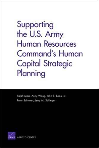 Amazon com: Supporting the U S  Army Human Resources