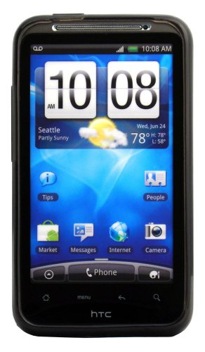 (Qmadix Flex Gel Cover for HTC Inspire - Retail Packaging -)