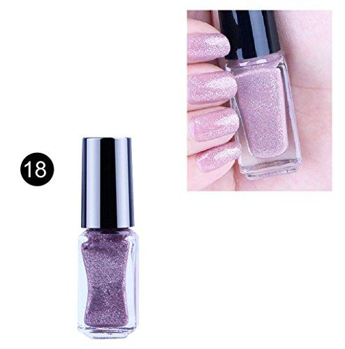 Nali Polish,Mailat 6ML Peel Off Gel Nail Polish Color Changing Nail Art Cosmetic Polish (I)