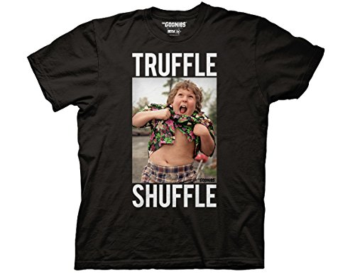 Truffle Shuffle with Chunk Photo Adult T-Shirt - M to 3XL
