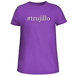 Trujillo Cute Womens Junior Graphic Tee Purple X Large
