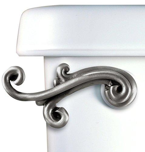 Functional Fine Art Scroll Toilet Flush (Decorative Flush Handle)