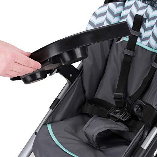 41Yf7TVKlqL - Evenflo Vive Travel System With Embrace Infant Car Seat, Spearmint Spree