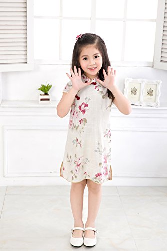 Cheongsam chino Acvip Vestido Chic Qipao Child Girl patr XqwzqR8