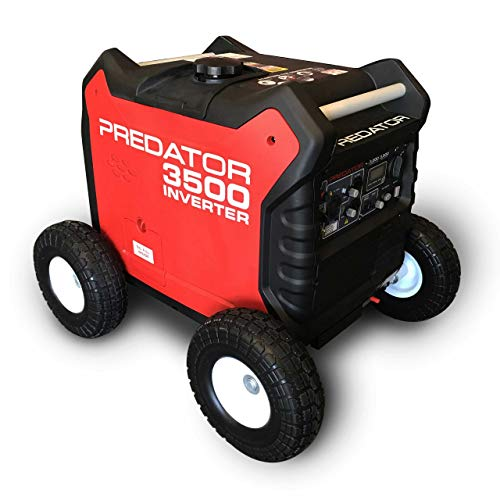 Autoworks All Terrain Wheel Kit, Fits Predator 3500 Generator, Solid Never Flat Tires ()