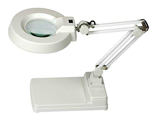 Deckey lampada manicure da tavolo con lente di ingrandimento w