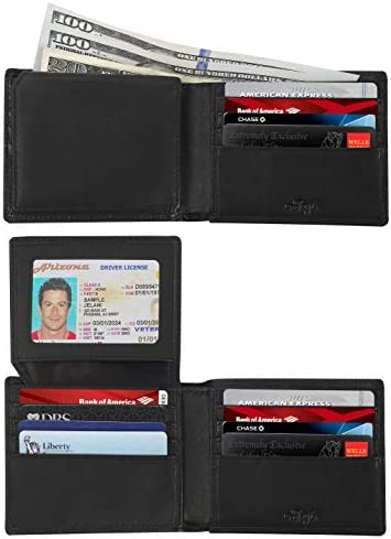 RFID Wallets Men Blocking Security