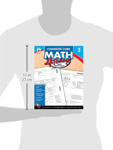 Amazon.com: Common Core Math 4 Today, Grade 3: Daily Skill ...
