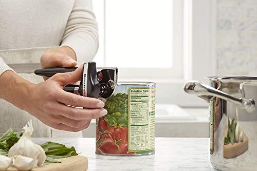 KitchenAid Can Opener, Black, One Size