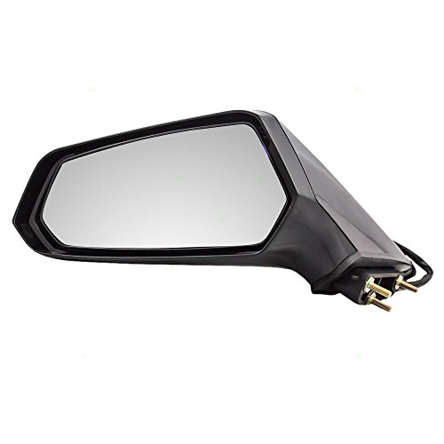 Drivers Power Side View Mirror Ready-to-Paint Replacement for Chevrolet 22762487 ()