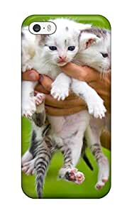 Durable Cute Cats Back Case/cover For Iphone 5/5s